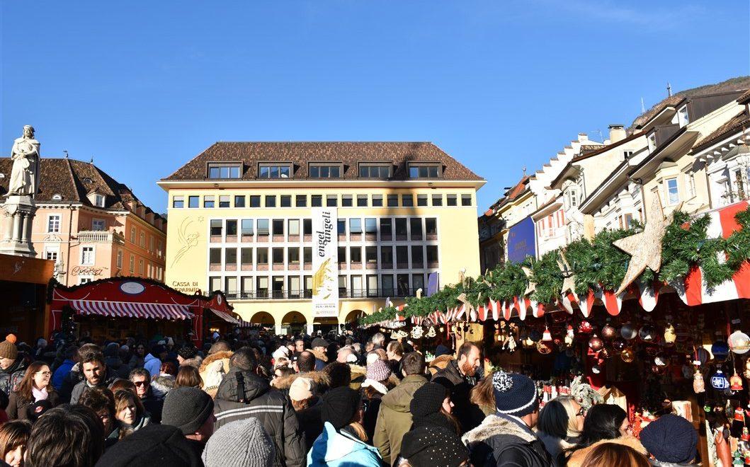 Bolzano e i suoi suggestivi mercatini di Natale