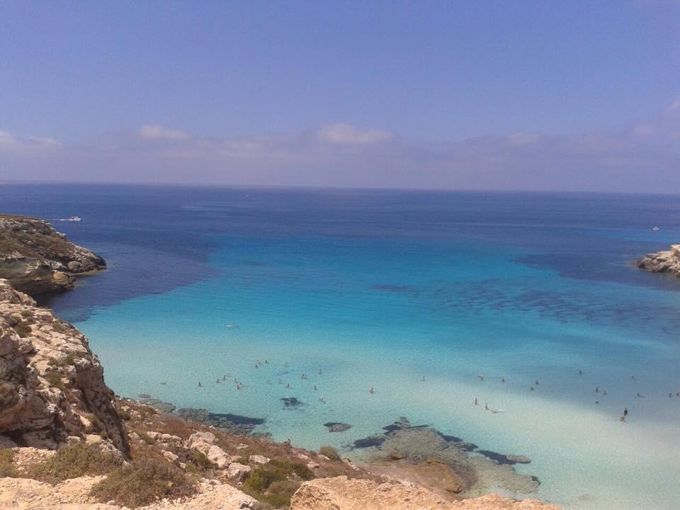 A Lampedusa la spiaggia più bella del mondo!