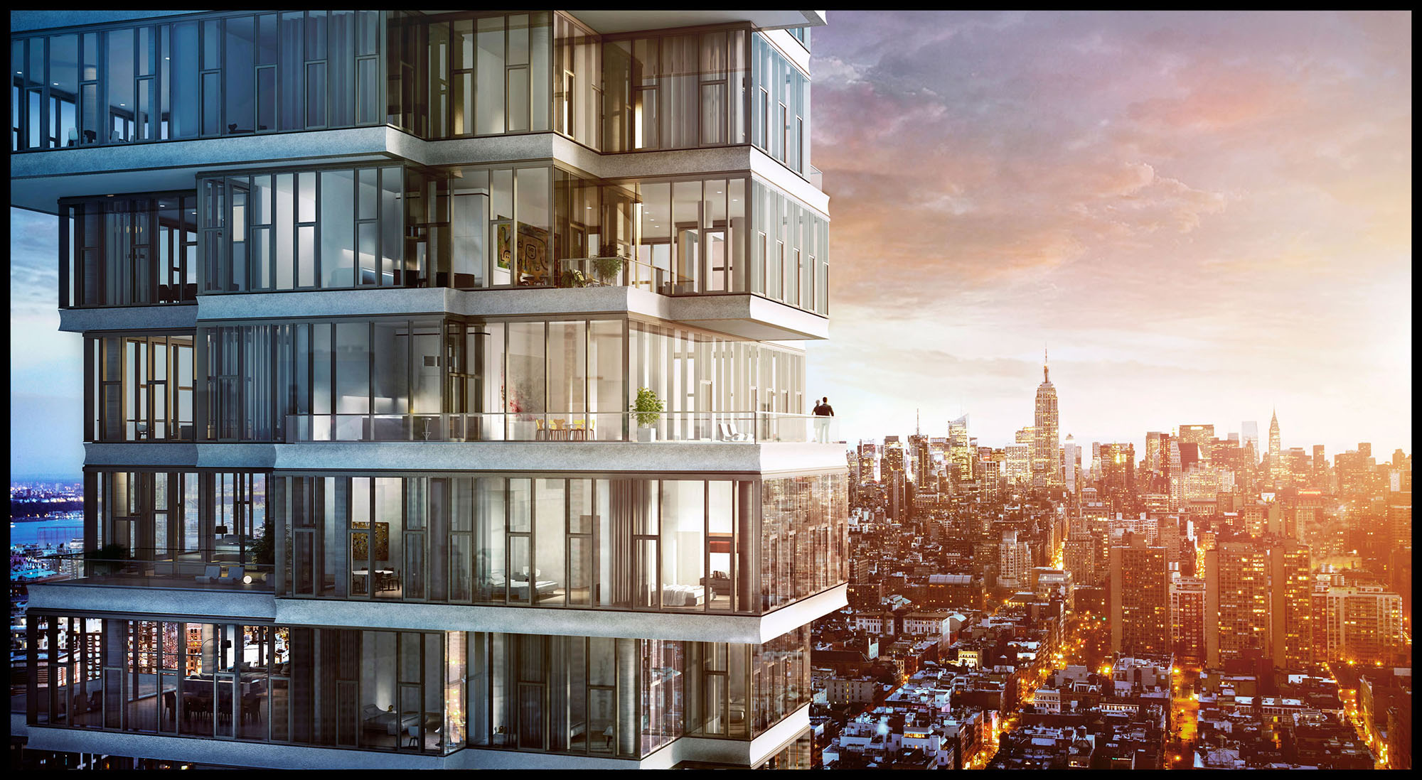 New york pronto il nuovo grattacielo di lusso 56 for Appartamento grattacielo new york