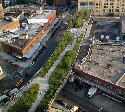 New York, passeggiando lungo la High Line