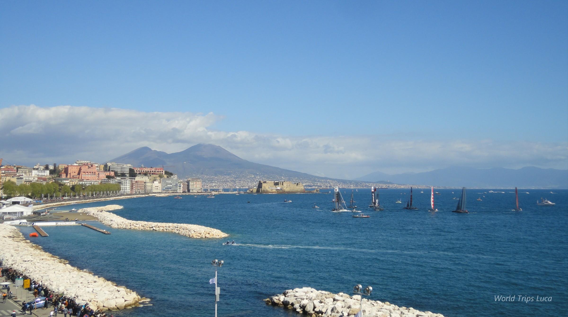 Napoli, America's Cup: terminata la terza giornata di regate