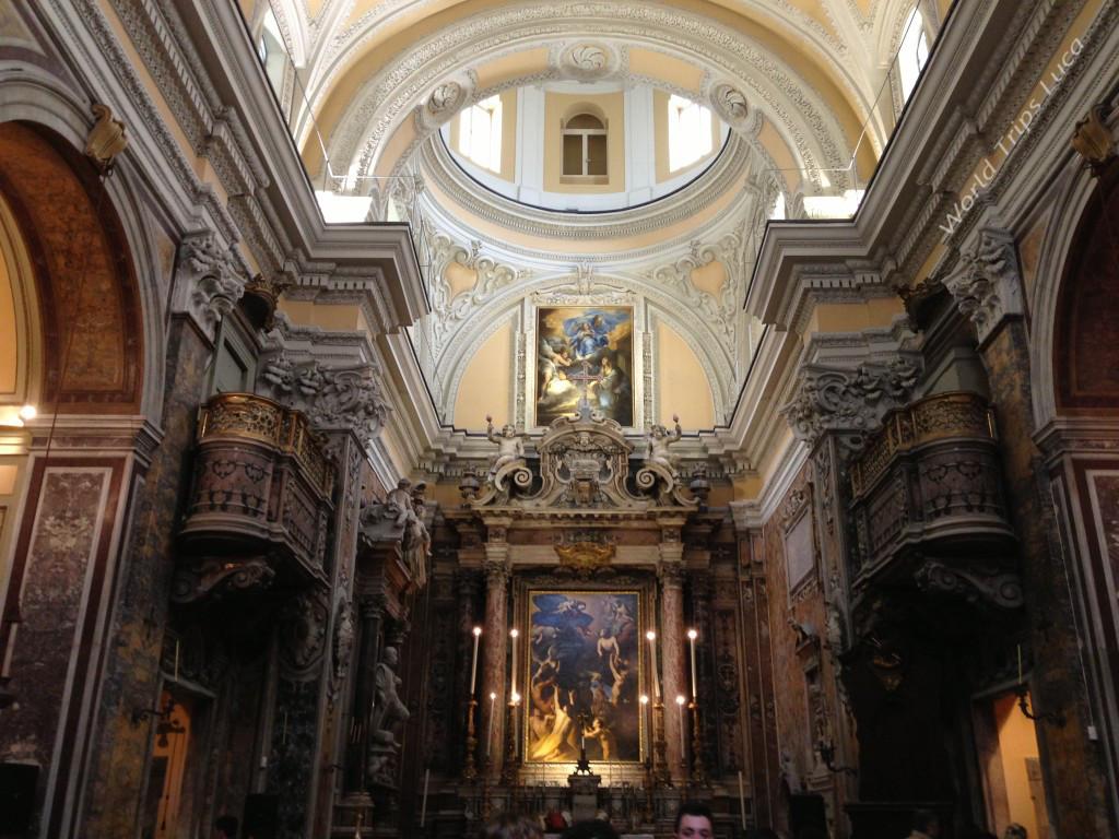 Napoli. Visitare la Chiesa delle Capuzzelle in via dei Tribunali