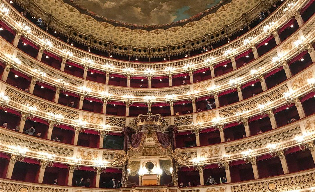 Visitare il Teatro San Carlo di Napoli