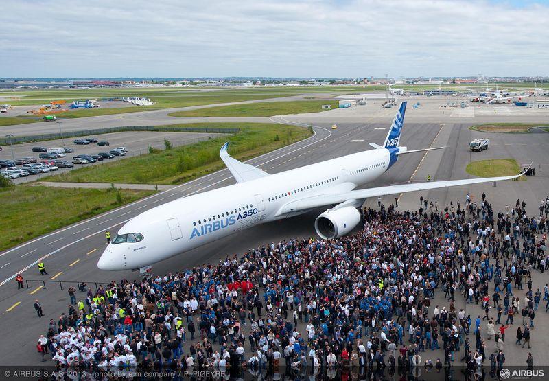 Presentato a Tolosa il nuovo Airbus A350 XWB