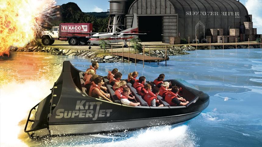 Le grandi attrazioni del parco divertimenti di Movieland
