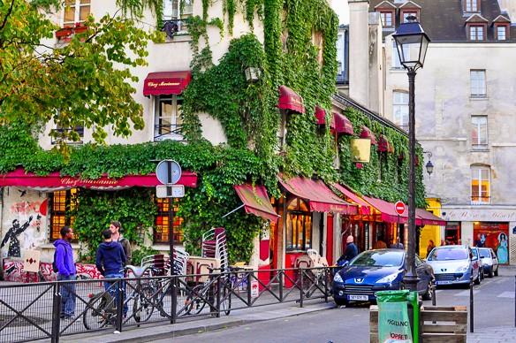 Passeggiando per il quartiere Marais di Parigi
