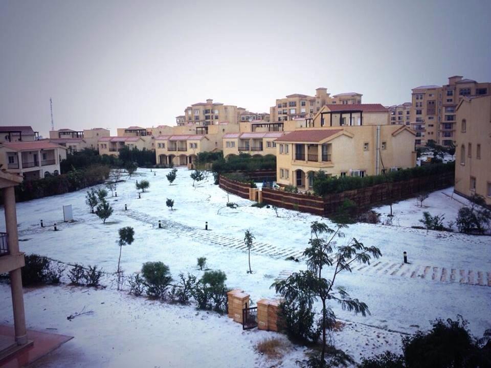 Pic of World Trips – Nevicata storica in Egitto