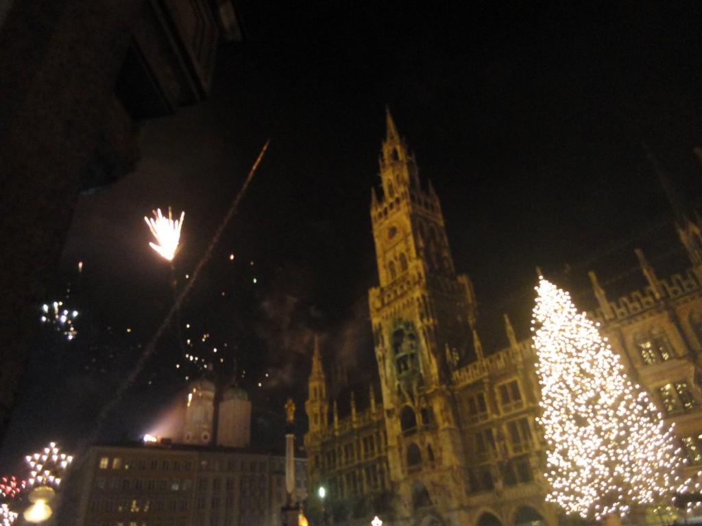 Festeggiare l'arrivo del nuovo anno a Monaco di Baviera