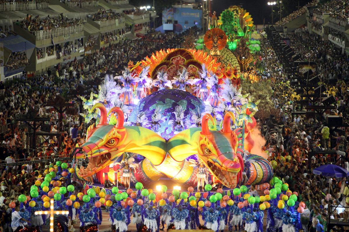 Tutto pronto a Rio per il Carnevale più entusiasmante