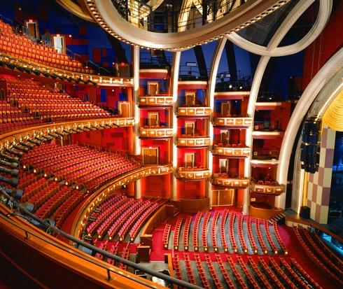 inside former kodak theatre