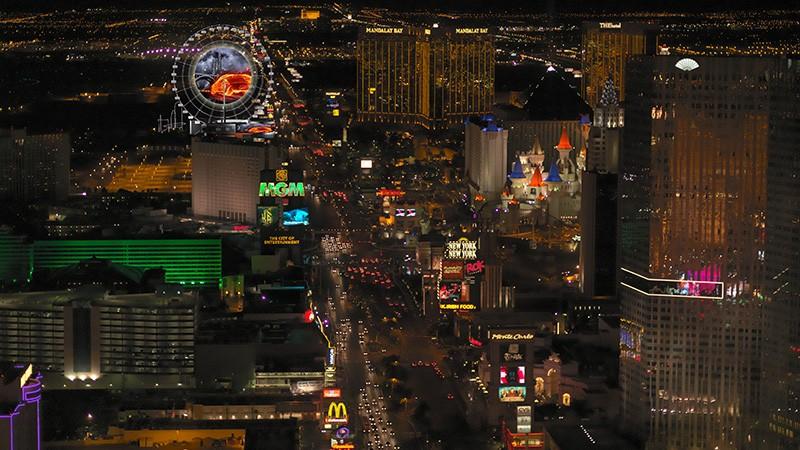 Las Vegas, here is the world's largest Ferris wheel