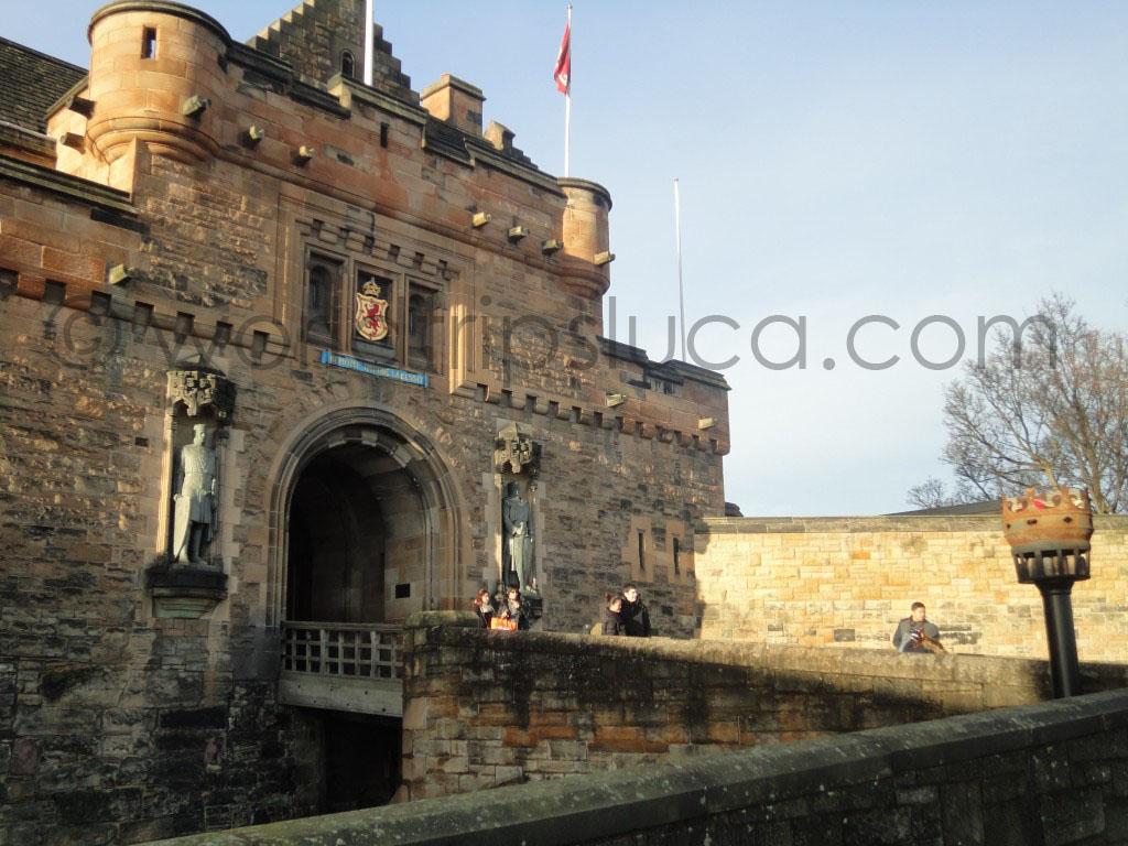 Record di visitatori per il castello di Edimburgo