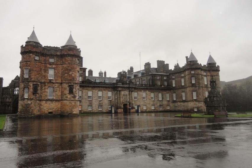 Scottish Trip #3: Holyroodhouse, la residenza ufficiale della Regina