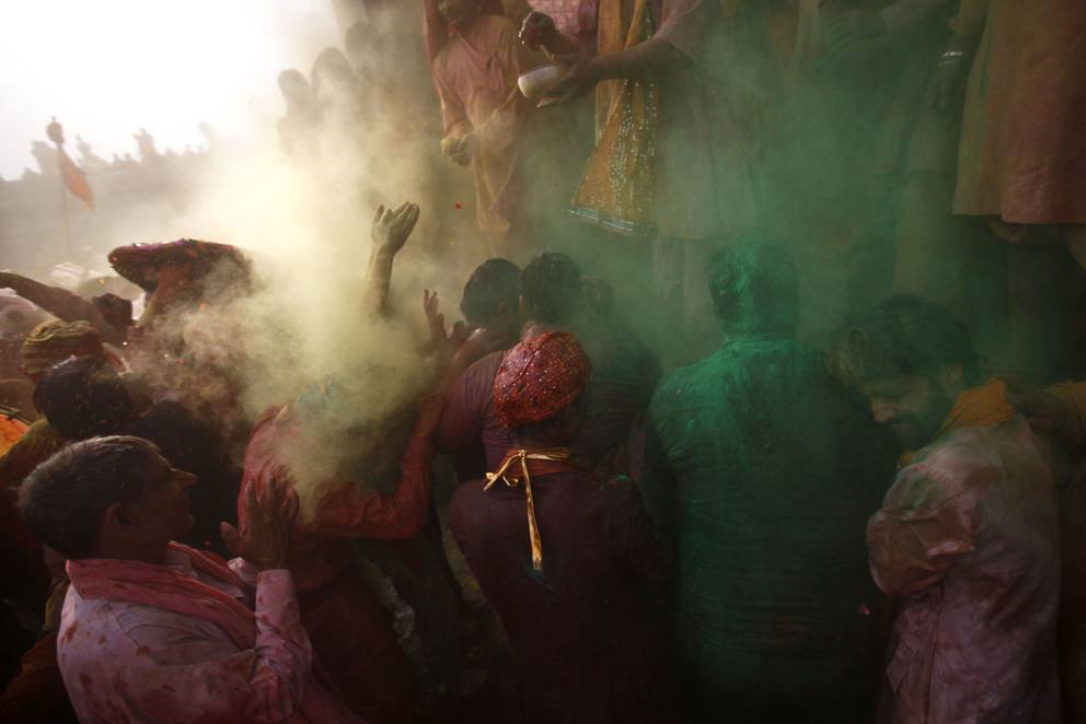 Pic of World Trips – Festa di Lathmar Holi in India