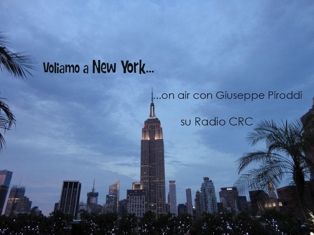 "Intervista a Radio CRC: ""voliamo"" insieme a New York"