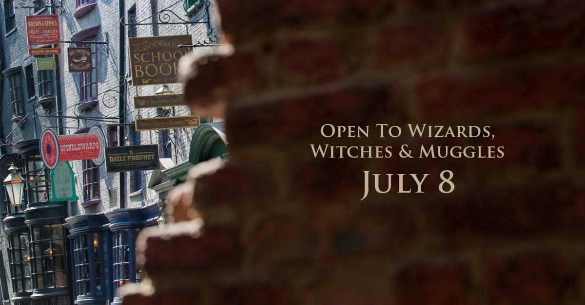 Apre l'8 luglio il nuovo parco dedicato ad Harry Potter