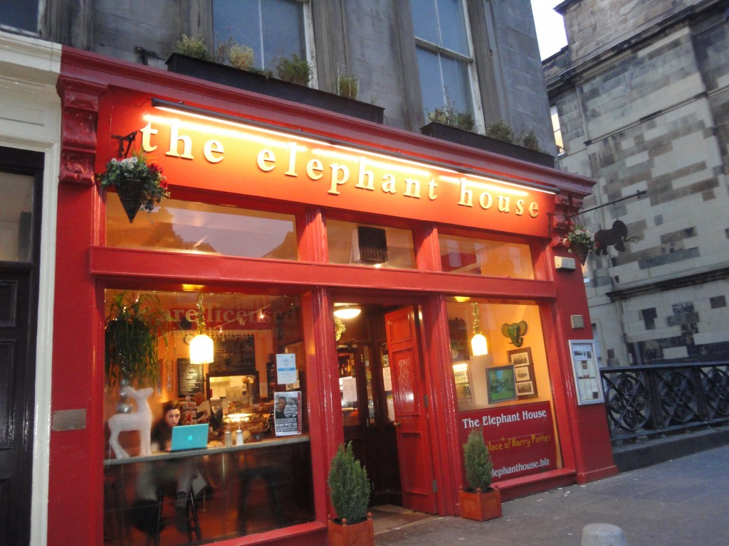 The Elephant House: qui dove nacque Harry Potter