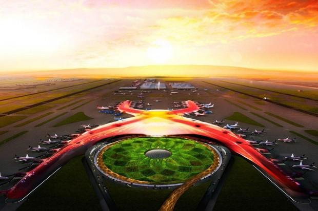 Città del Messico: ecco il nuovo aeroporto di Norman Foster