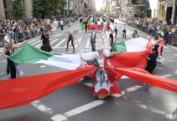 Festeggiamenti in America per il Columbus Day