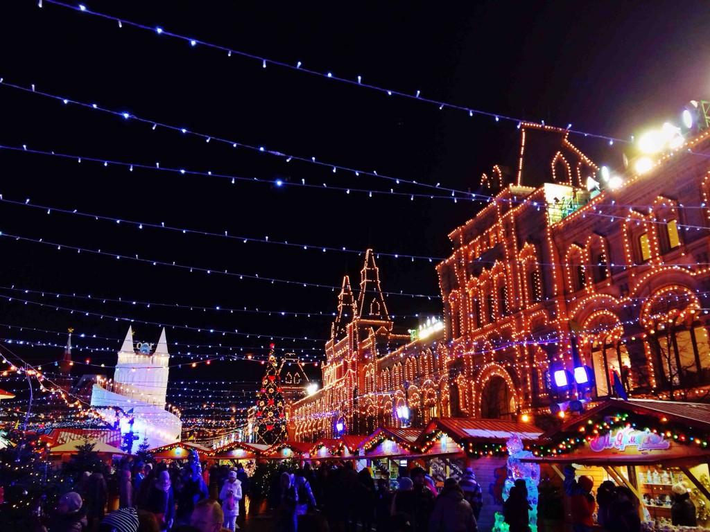 Natale nel mondo: ecco come festeggiano Londra, Mosca e New York