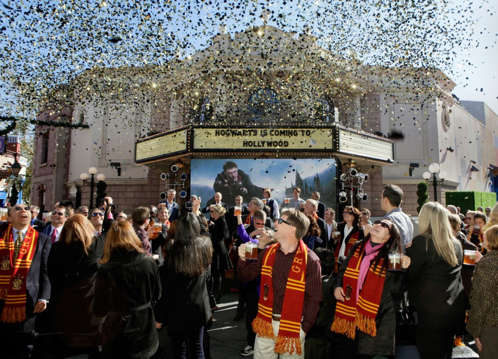 Universal Studios Hollywood: apre nel 2016 il Wizarding World di Harry Potter