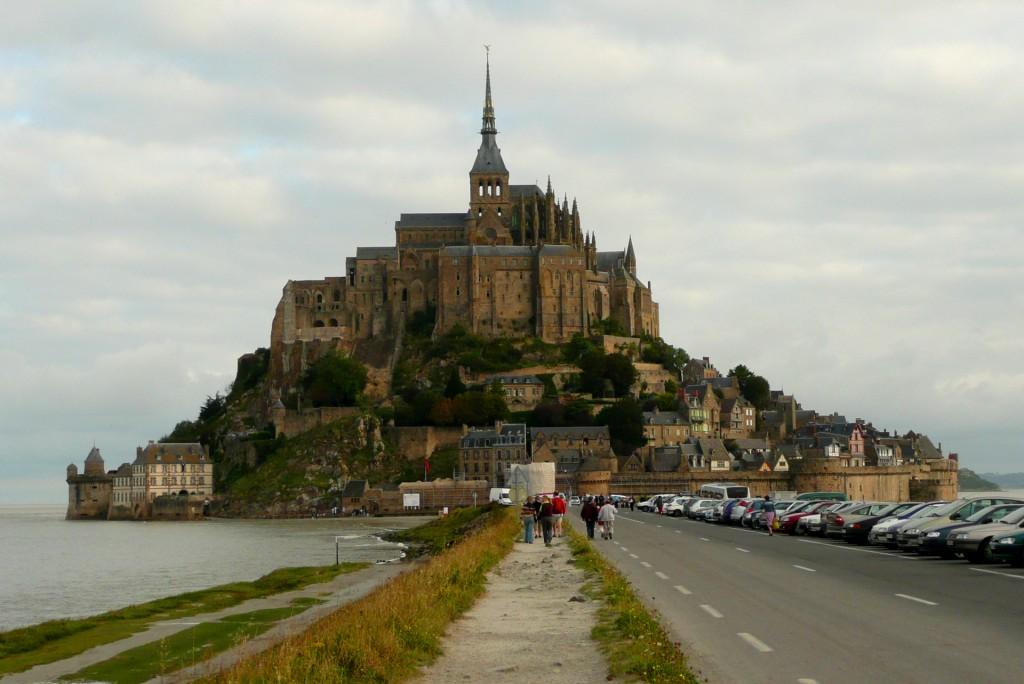Mont Saint Michel: il video in time lapse della marea del secolo