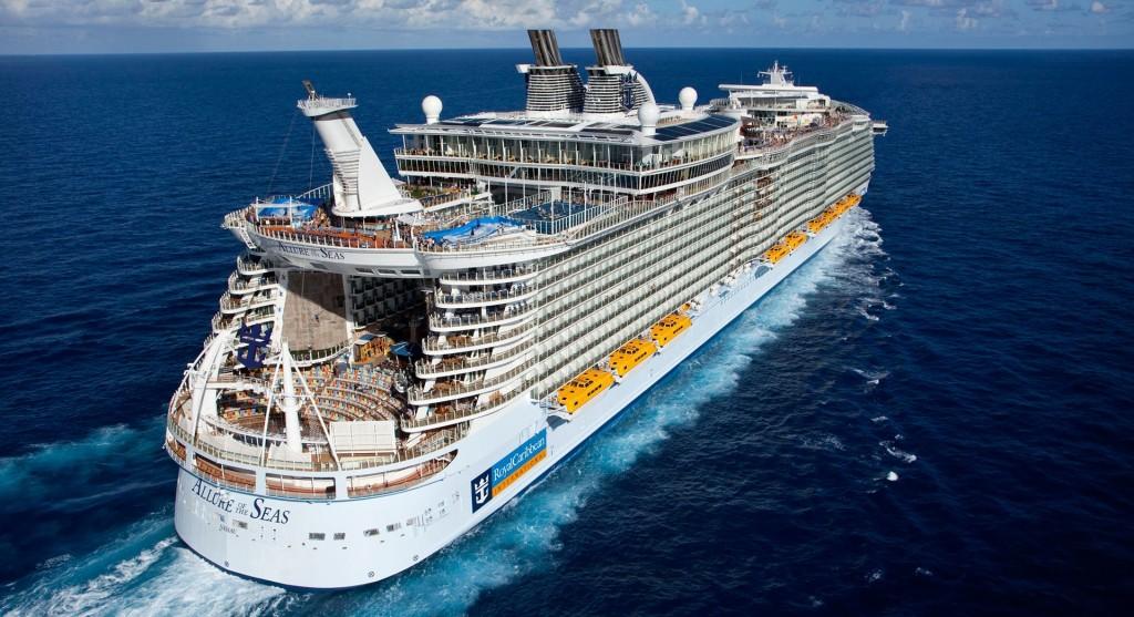 Arriva nel Mediterraneo Allure of the Seas, la nave più grande del mondo
