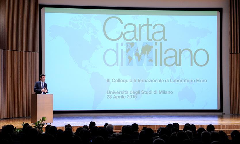 Cos'è la Carta di Milano e dove si firma!