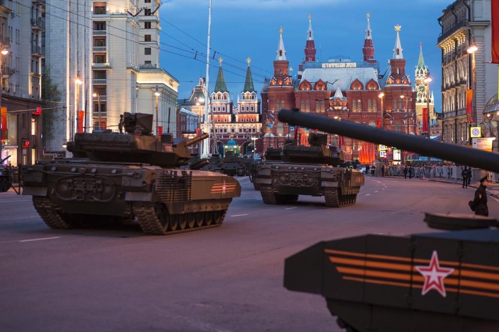 Grandi festeggiamenti a Mosca per celebrare la Giornata della Vittoria