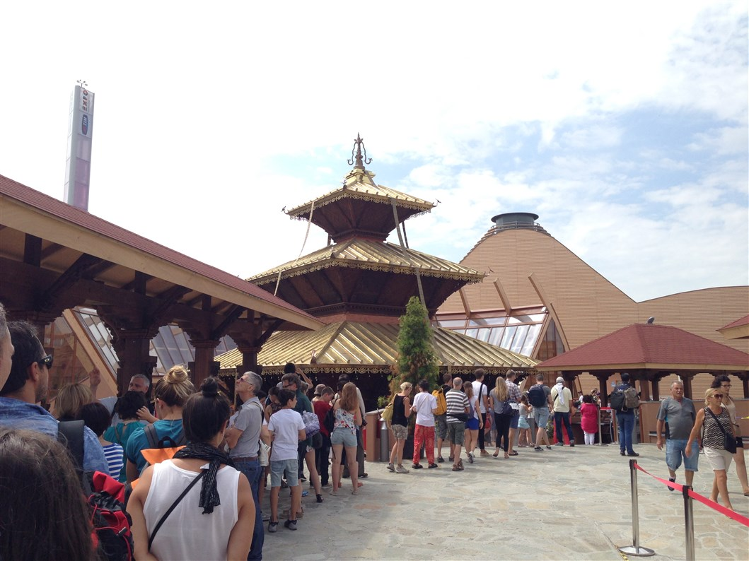 Expo Milano 2015: grazie all'aiuto di tanti apre il padiglione Nepal!