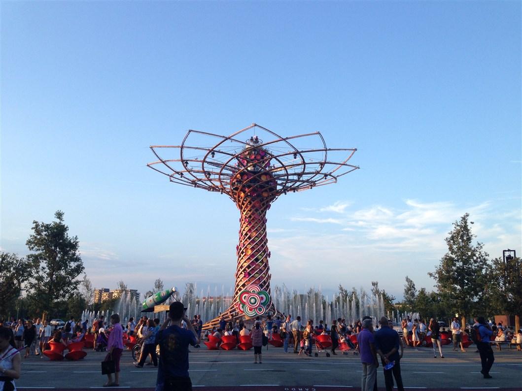 Expo Milano 2015: scopriamo l'Albero della Vita che ogni sera regala emozioni
