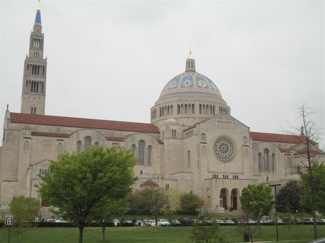 La Basilica dell'Immacolata Concezione di Washington