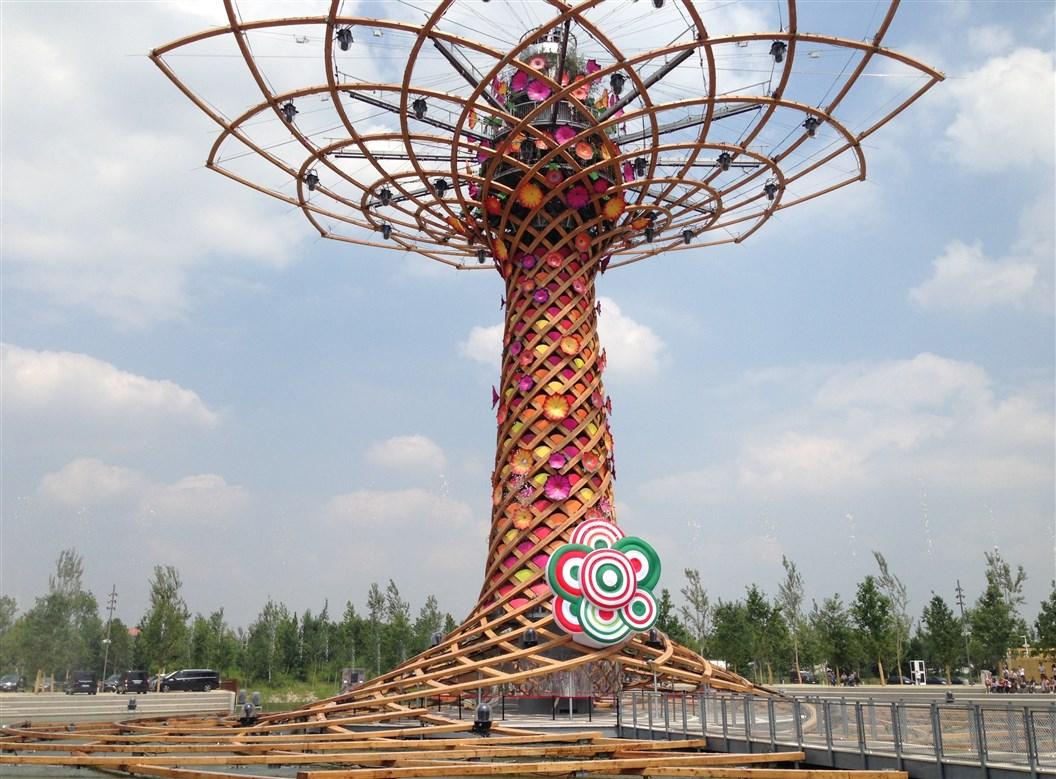 albero della vita expo nuovo