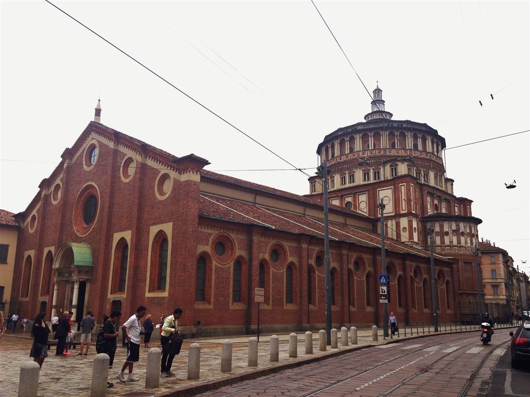Cosa vedere a Milano: la Chiesa di Santa Maria delle Grazie