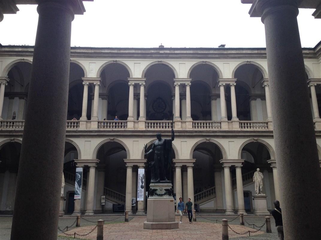 Musei a Milano: la Pinacoteca di Brera