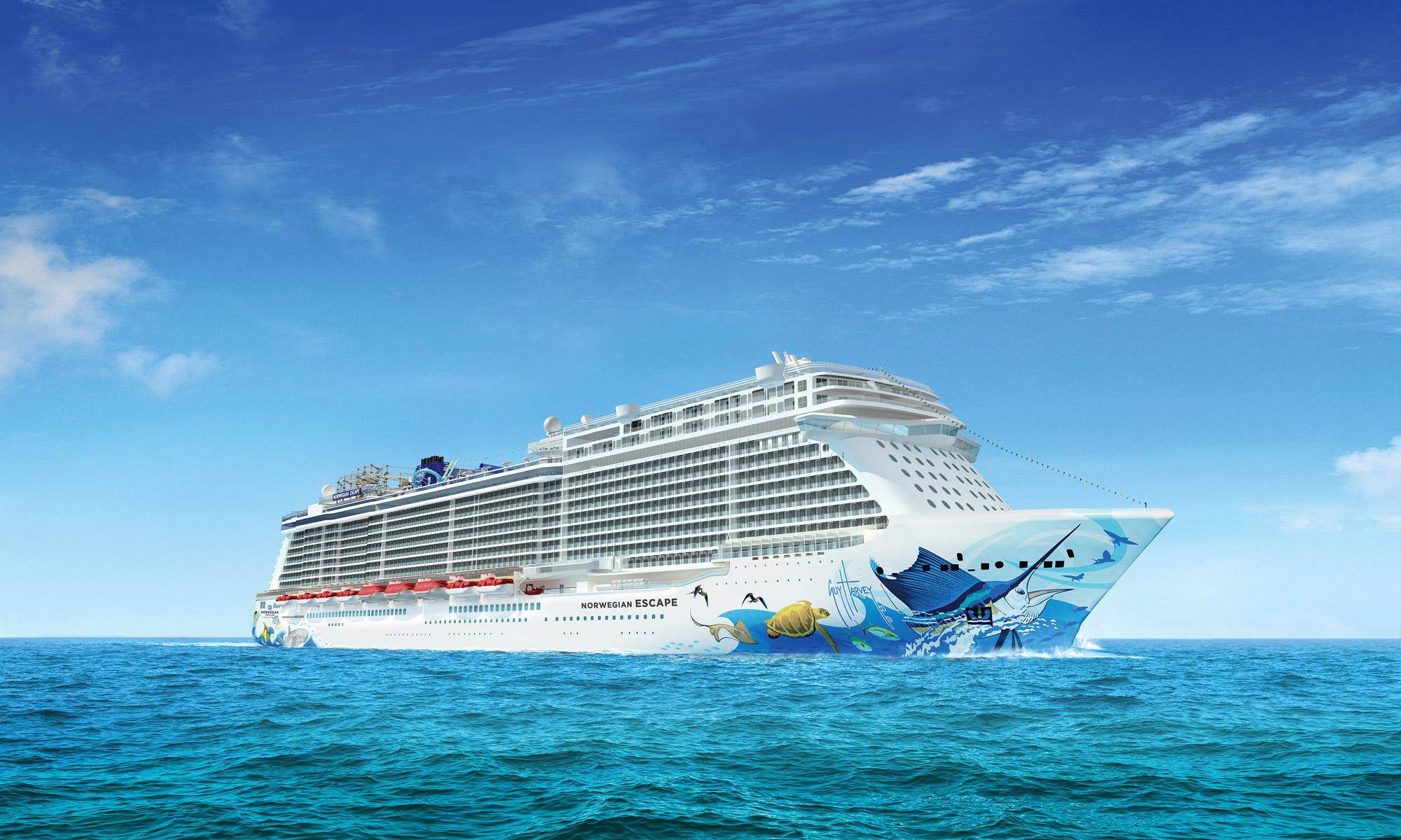 Il rapper Pitbull battezza la Norwegian Escape, la nuova nata del gruppo Norwegian Cruise Line