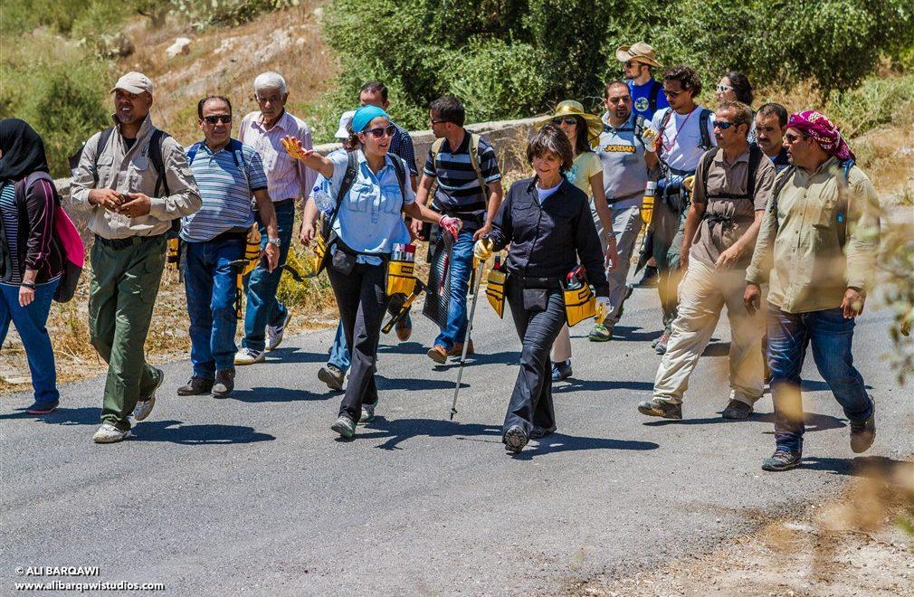 Jordan Trail. Un percorso a piedi per scoprire la Giordania.