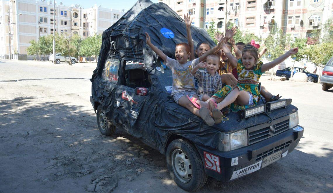Wallerally, Week 6. La tappa in Turkmenistan e in Uzbekistan.