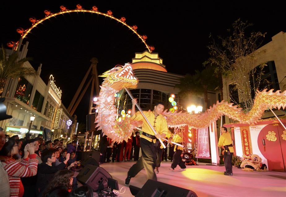 Las Vegas celebra il Capodanno cinese con tante iniziative dedicate all'Estremo Oriente