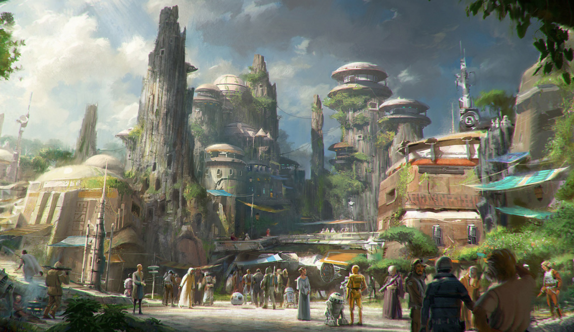 Star Wars Land aprirà a Disneyland nel 2019!