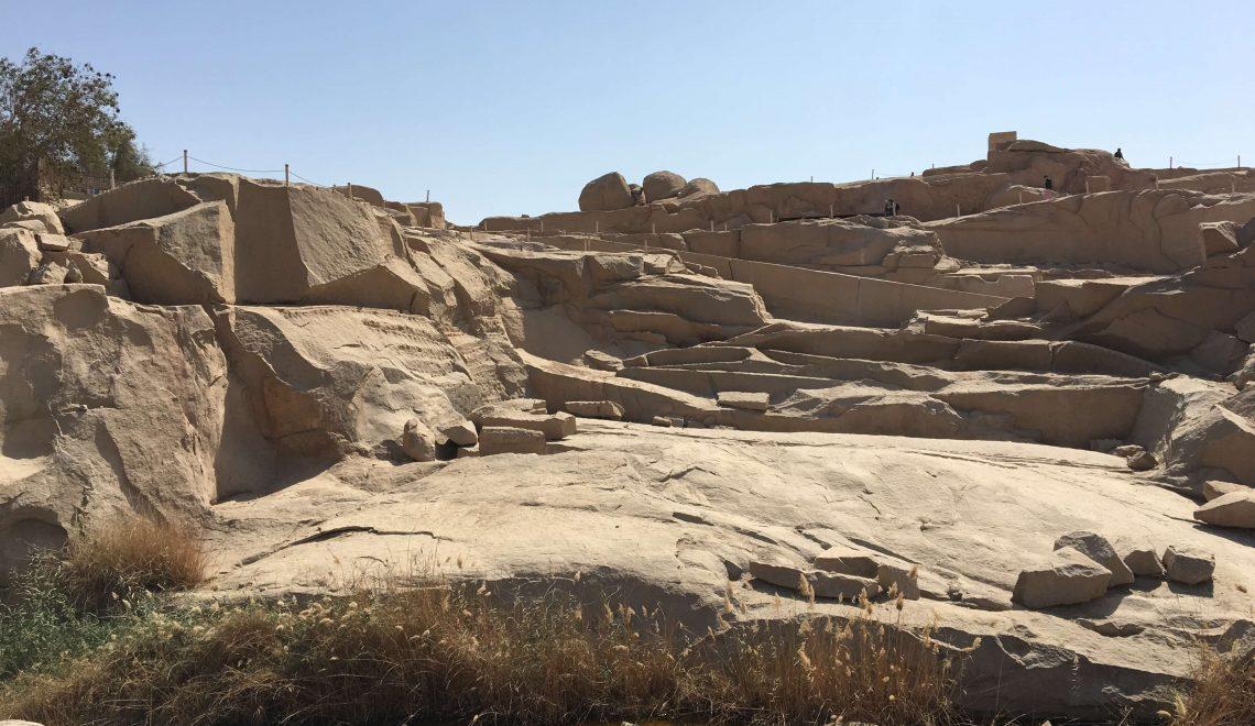 La cava di granito di Assuan e l'obelisco incompiuto