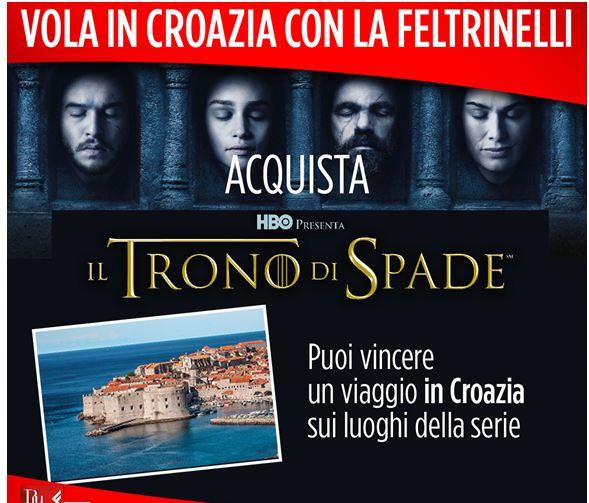 Vola in Croazia sul set de il Trono di Spade