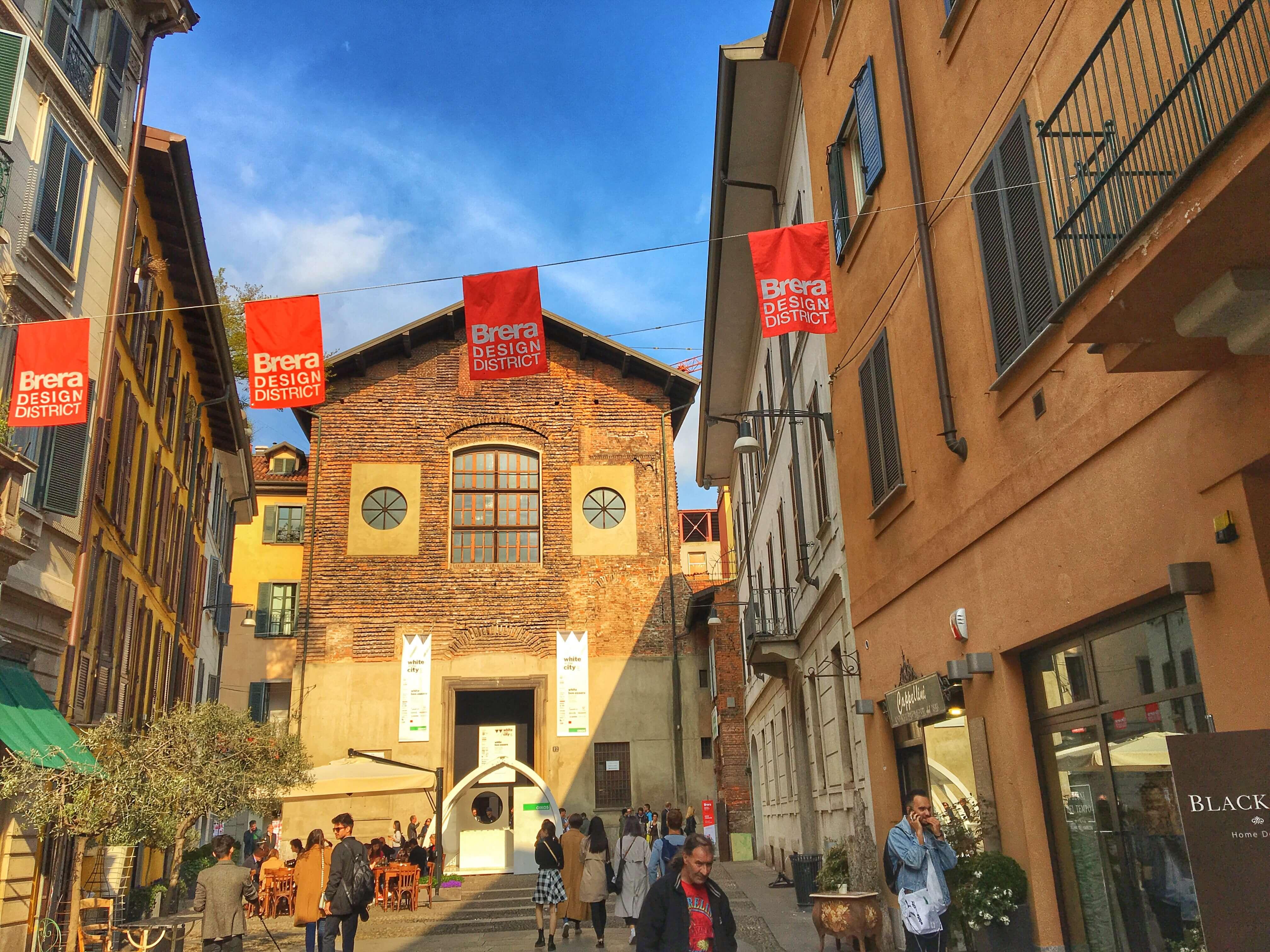Brera design district il cuore del fuorisalone a milano for Brera district