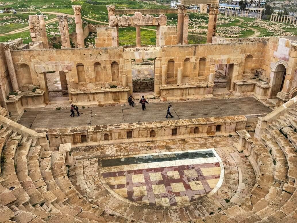 Risultati immagini per jerash giordania