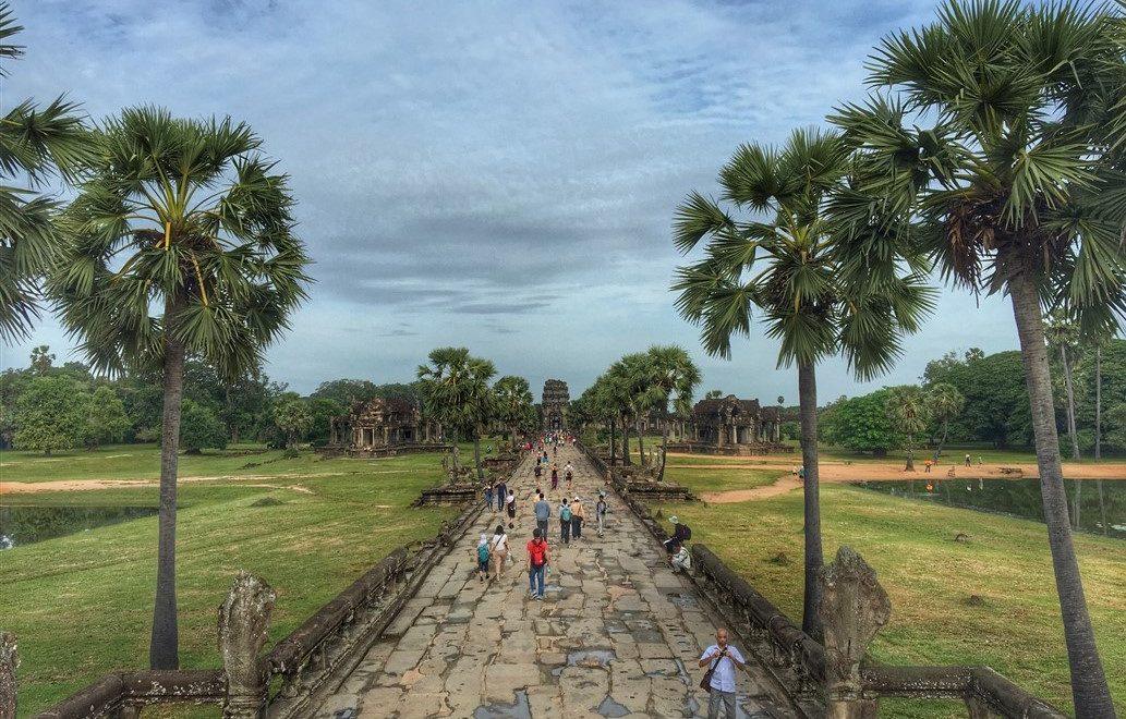 Visitare il sito archeologico di Angkor Wat in Cambogia