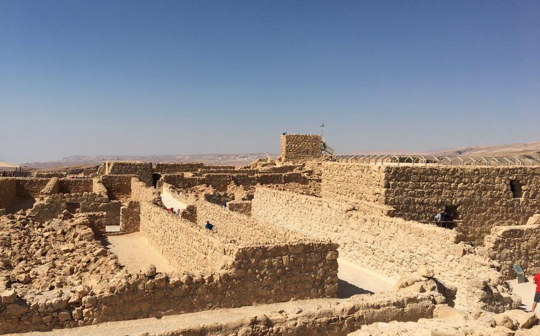 Visitare Masada: la fortezza di Erode affacciata sul Mar Morto