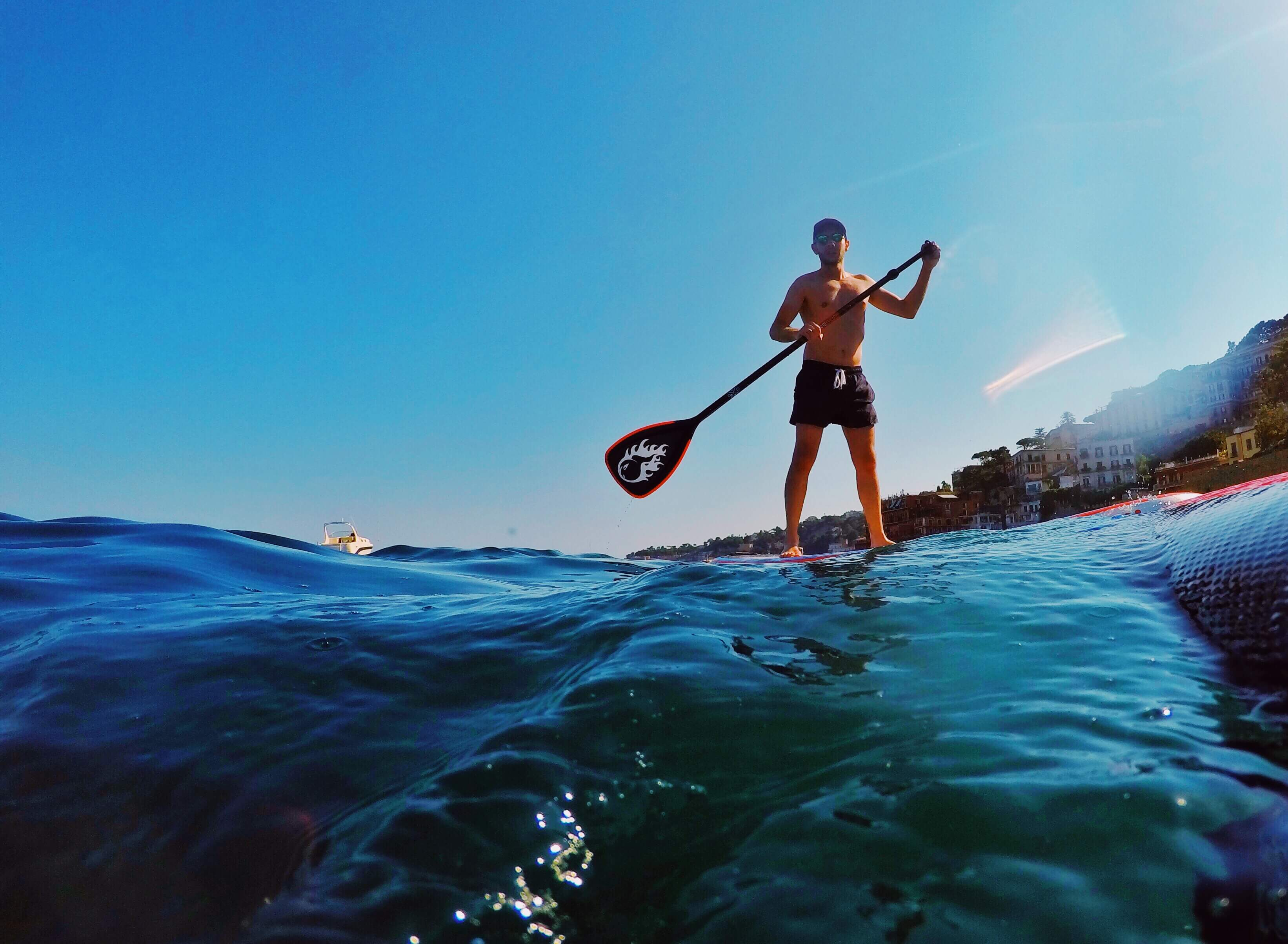napoli stand up paddling