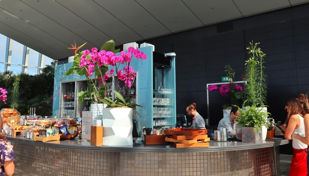 colazione sullo sky garden