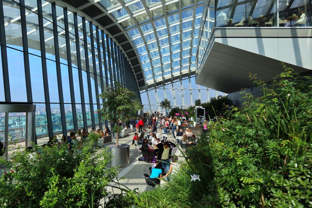 sky garden londra