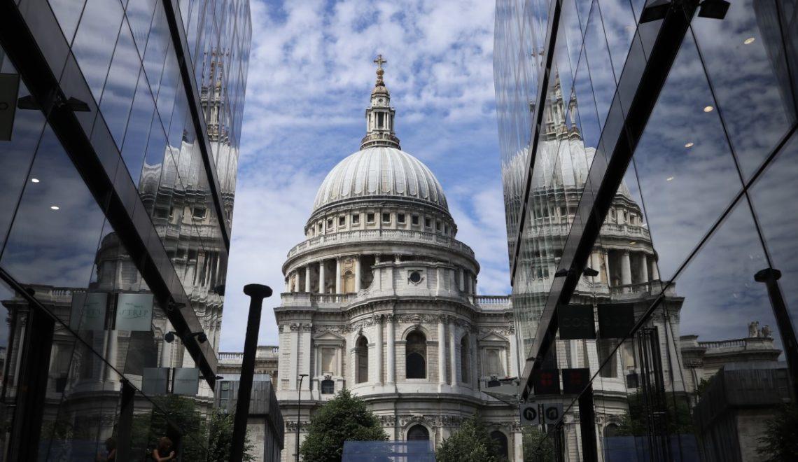 Salire sulla cupola della Cattedrale di St. Paul a Londra